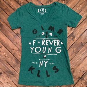 Glamour Kills (GLMR KLLS) Forever Young Tshirt